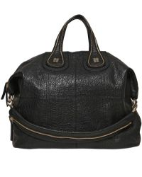 Givenchy Large Nightingale Textured Leather Bag - Lyst