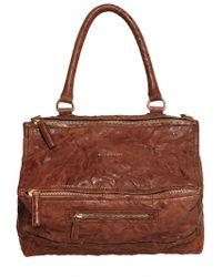 Givenchy - Medium Pandora Washed Leather Bag - Lyst