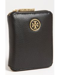 Tory Burch Robinson French Change Wallet - Lyst