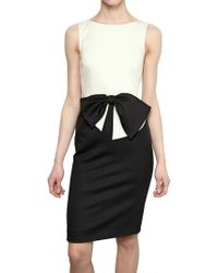 Valentino Techno Couture Wool Jersey Dress - Lyst