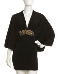 Julian Joyce By Mandalay Flutter Sheath Dress - Lyst
