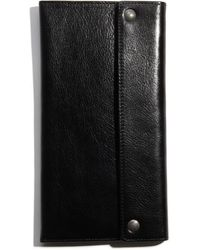 Fossil Transit Leather Passport Case - Lyst