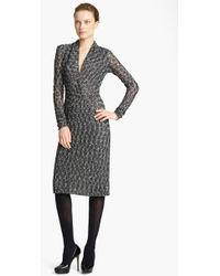Missoni Web Stitch Knit Dress - Lyst