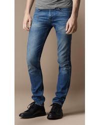 Burberry Shoreditch Indigo Skinny Fit Jeans - Lyst