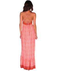 Twelfth Street Cynthia Vincent Empire Maxi Dress with Ruffle - Lyst