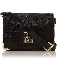 Biba Gretal Leather Shoulder Bag 44