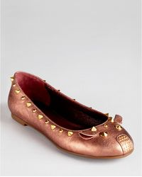 Marc By Marc Jacobs Mouse Ballerina Flats - Lyst