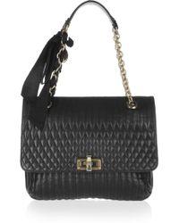 Lanvin Happy Medium Quilted Leather Shoulder Bag - Lyst