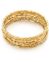 Made Her Think - Thorn Vine Bangle Set - Lyst