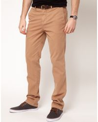 7 For All Mankind Minimal Slimmy Trousers - Lyst