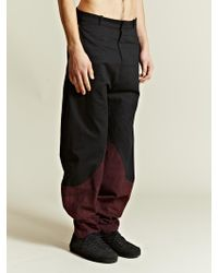 New Power Studio  Rip Stop Panel Trousers - Lyst