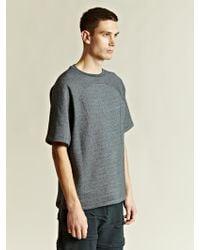 New Power Studio Gray Sweat T-shirt - Lyst