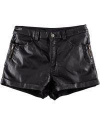 H&M Mini Shorts black - Lyst