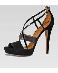 Gucci Betty High-heel Platform Sandal - Lyst