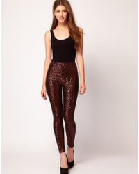 TFNC London - Sequin Leggings - Lyst