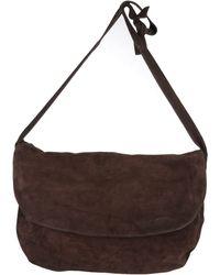 Vintage De Luxe - Large Leather Bag - Lyst