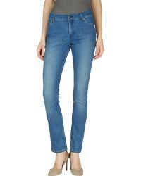Cheap Monday Denim Trousers blue - Lyst