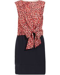 Jaeger Sleeveless Dress - Lyst
