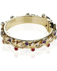 Mawi - Leaf Bangle - Lyst
