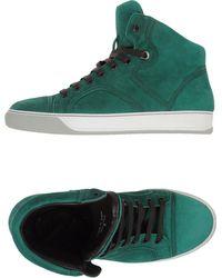 Lanvin Hightop Sneaker - Lyst