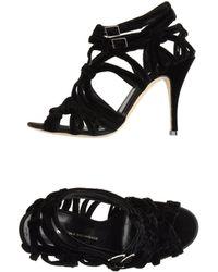 Nicole Brundage - Highheeled Sandals - Lyst
