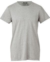 Balmain Heather Grey Vintage Crew Neck Tshirt - Lyst