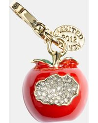 Juicy Couture Apple Charm - Lyst