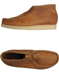 Sebago Hightop Dress Shoe - Lyst
