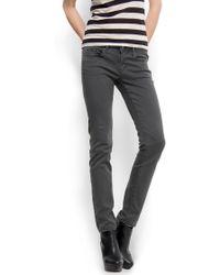 Mango Low Rise Skinny Jeans - Lyst