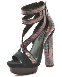 Rachel Zoe Payton High Heel Sandals - Lyst