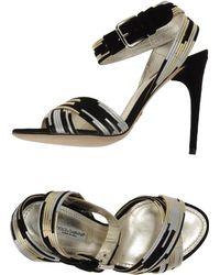 Dolce & Gabbana High Heeled Sandals - Lyst