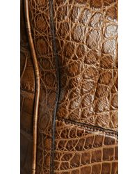 Burberry - Alligator Leather Holdall - Lyst