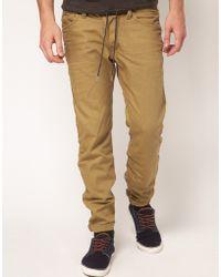 Diesel Darron 8qu Regular Slim Jeans - Lyst