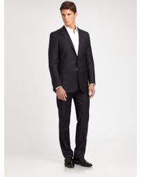 Ralph Lauren Black Label Anthony Wool Pinstripe Suit - Lyst