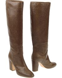 Casadei Highheeled Boots - Lyst