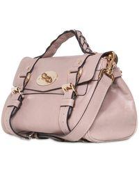 Mulberry - Mini Alexa Fur Print Soft Leather Bag - Lyst