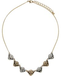 Topshop Monkey Collar Necklace - Lyst