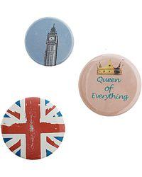 TOPSHOP London Badge Pack