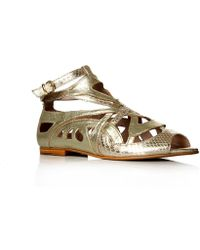 Biba Penny Sandals - Metallic