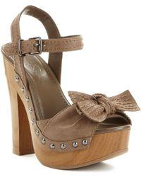 Jessica Simpson Terrii Platform Sandals - Lyst