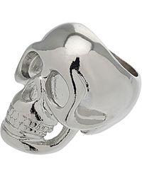 Topshop Skull Ring - Lyst