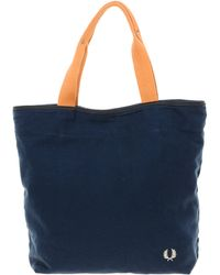 Fred Perry Tote Bag - Blue