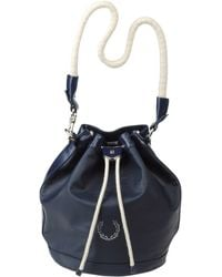 Fred Perry Large Fabric Bag - Black