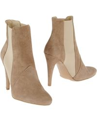 Stefanel Ankle Boots - Lyst