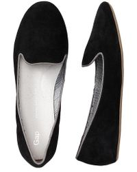 Gap Suede Loafers - Lyst