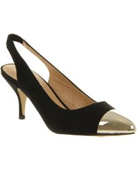 Office Bang On Court Black Microsuede - Lyst