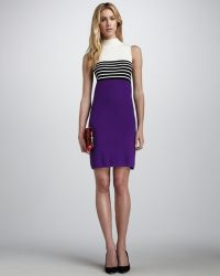 Milly Rita Colorblock Dress - Lyst
