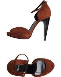 Pierre Hardy Platform Sandals - Lyst