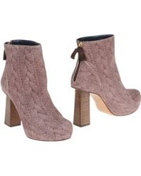 Pollini Ankle Boots - Lyst