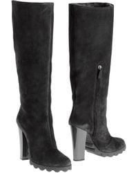 Pollini Highheeled Boots - Lyst